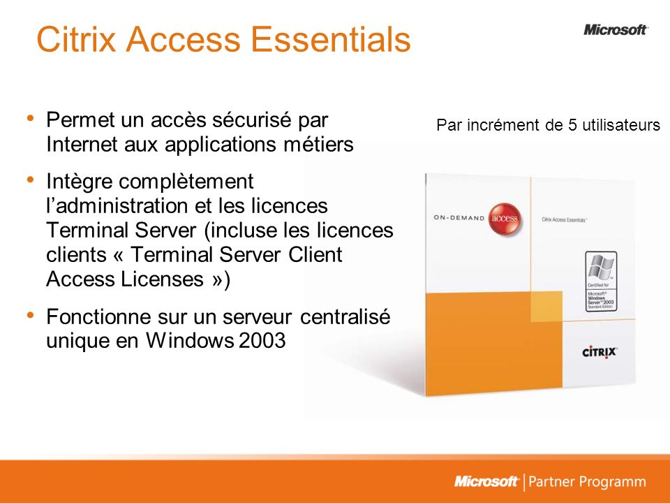 Citrix Access Essentials