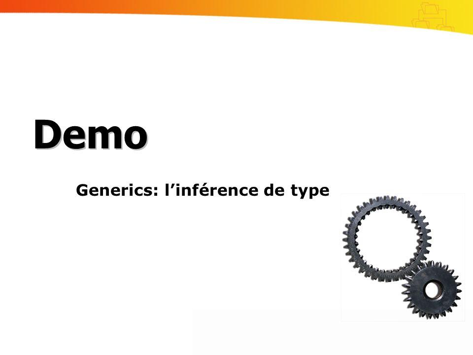 Generics: l'inférence de type