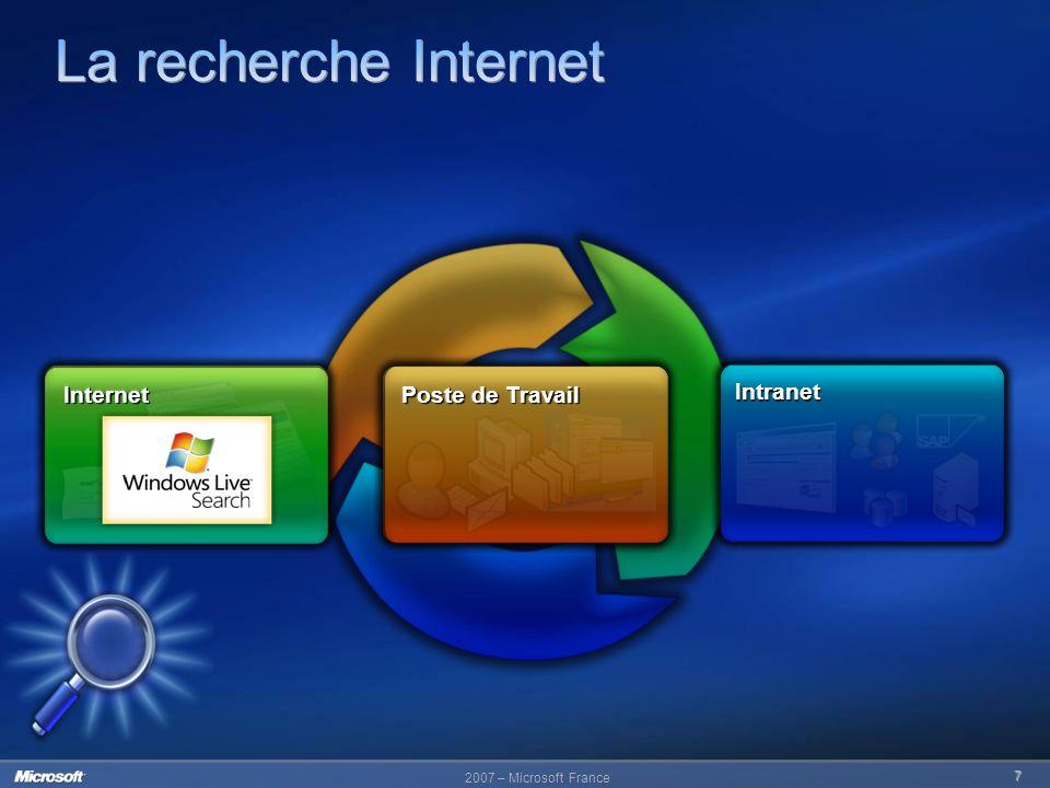 La recherche Internet Internet Internet Poste de Travail