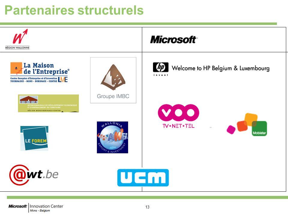 Partenaires structurels