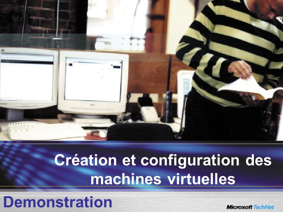 Création et configuration des machines virtuelles