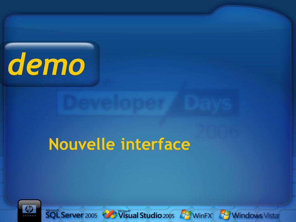 demo Nouvelle interface Démo dans l'émulateur WAP