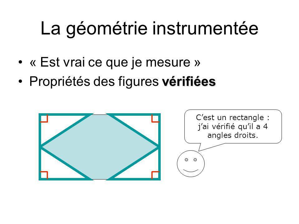 La géométrie instrumentée