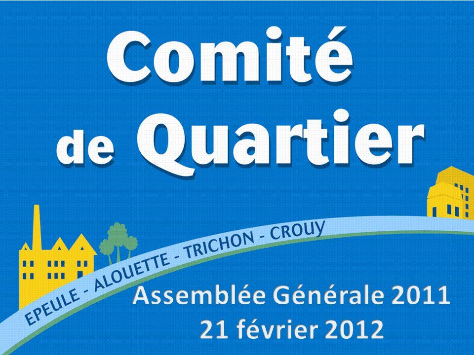 Assemblée Générale 2011 21 février 2012