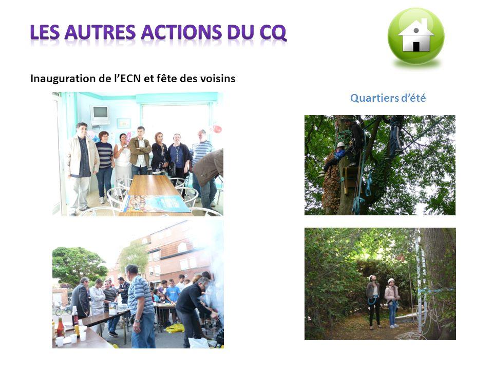 Les autres actions du CQ
