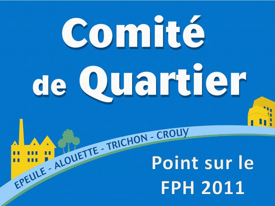 Point sur le FPH 2011