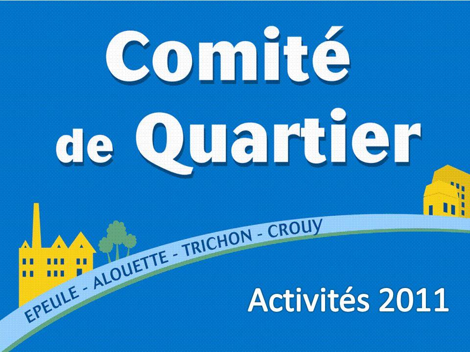 Activités 2011