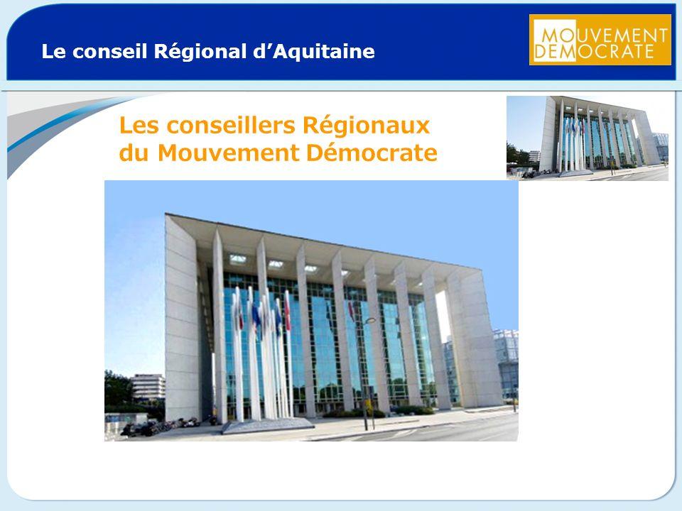 Le conseil Régional d'Aquitaine