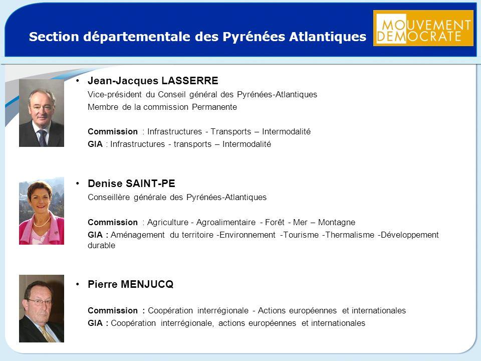 Section départementale des Pyrénées Atlantiques