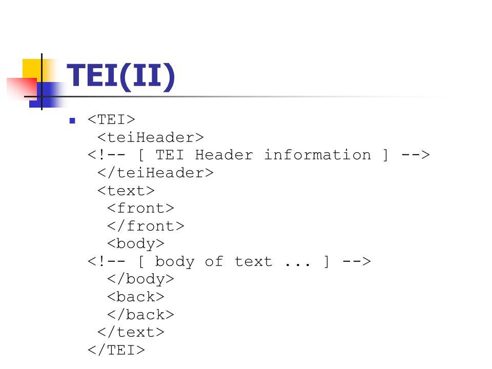 TEI(II)