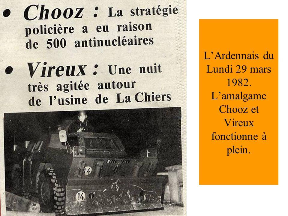 L'Ardennais du Lundi 29 mars 1982
