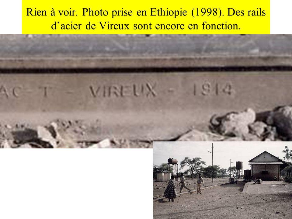 Rien à voir. Photo prise en Ethiopie (1998)