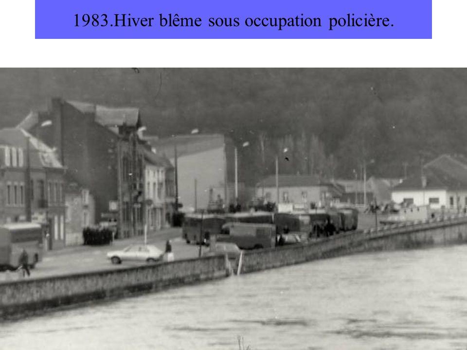 1983.Hiver blême sous occupation policière.