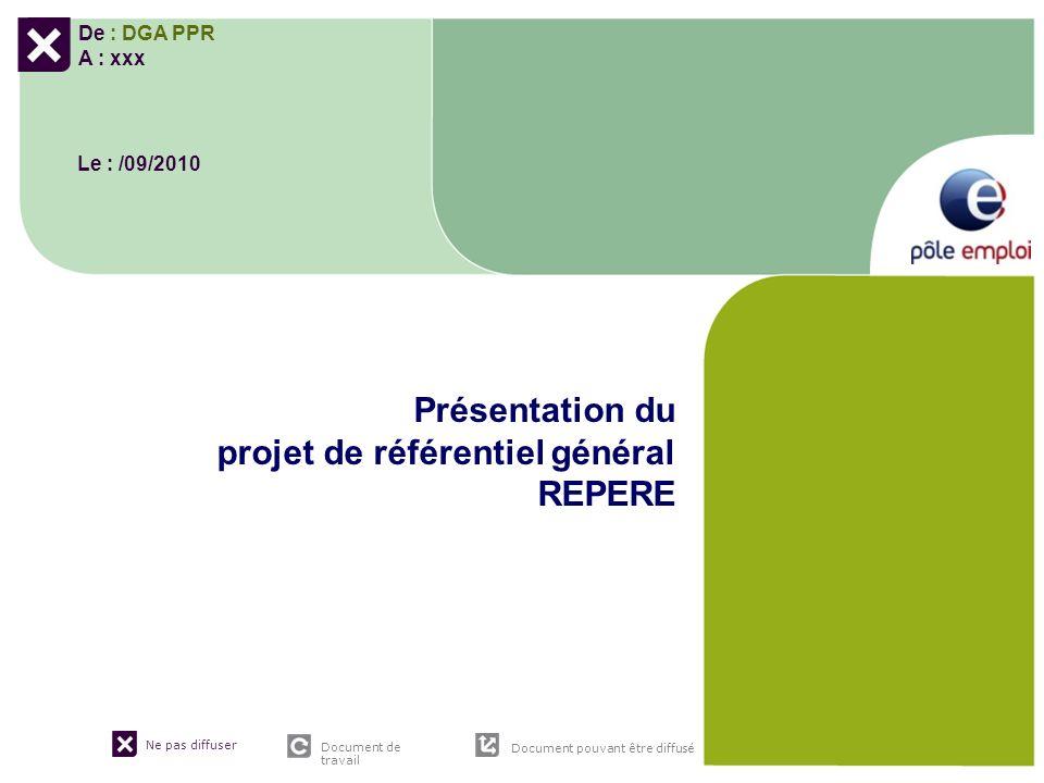 Présentation du projet de référentiel général REPERE