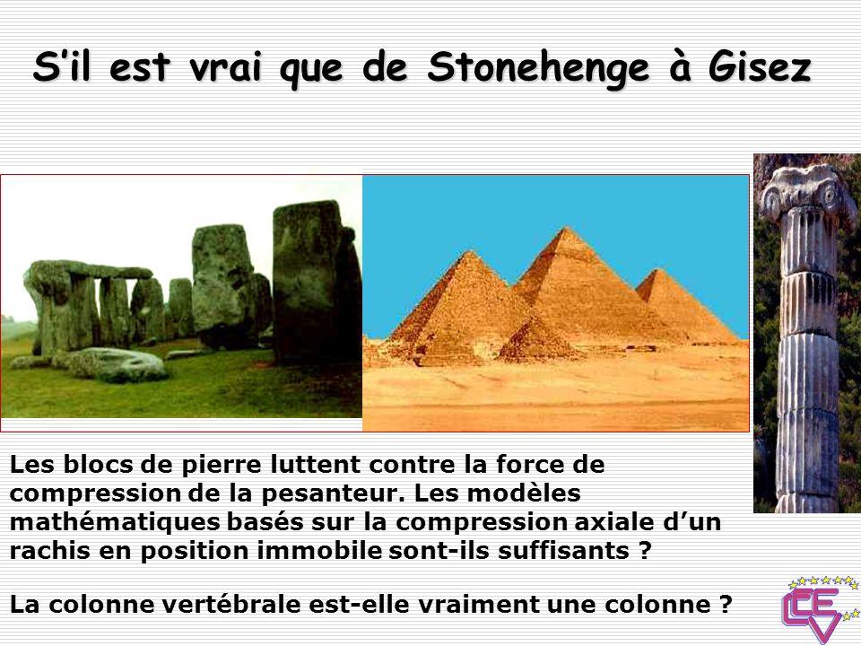 S'il est vrai que de Stonehenge à Gisez