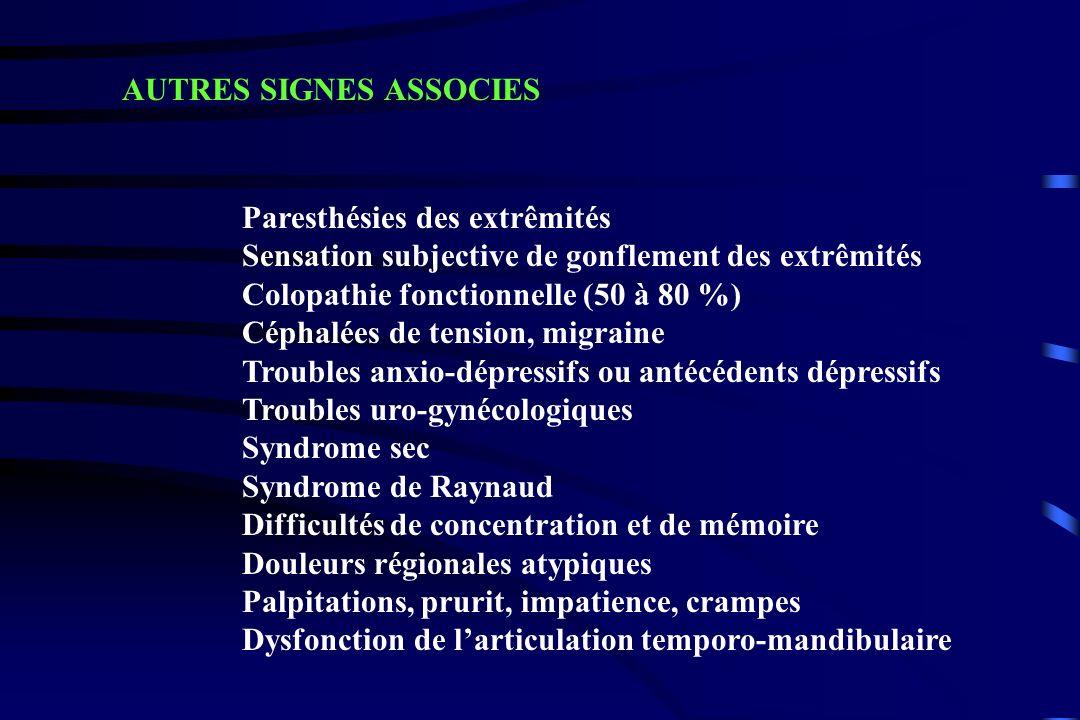 AUTRES SIGNES ASSOCIES