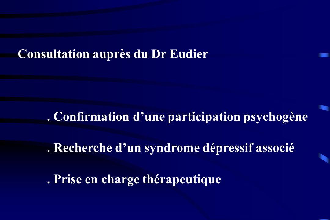 Consultation auprès du Dr Eudier