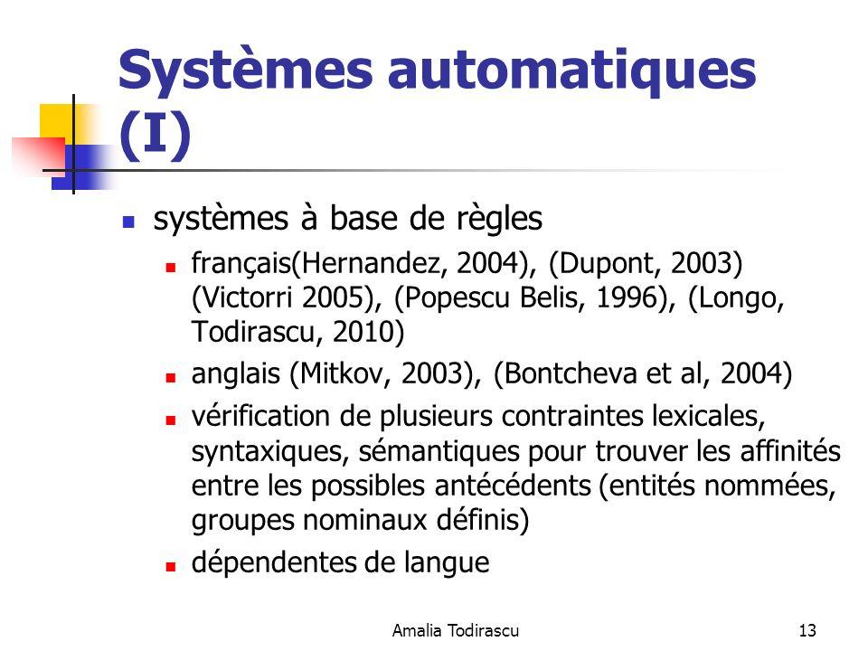 Systèmes automatiques (I)