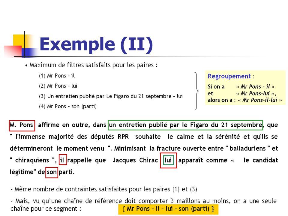 Exemple (II) Amalia Todirascu