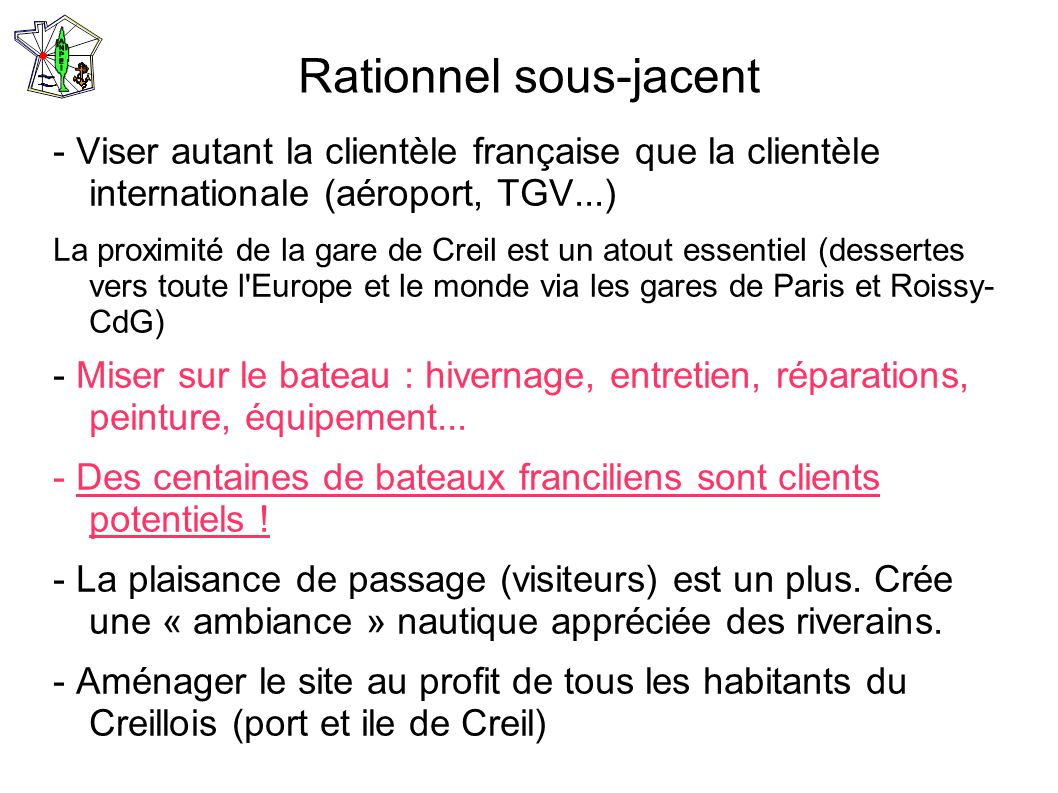 Rationnel sous-jacent