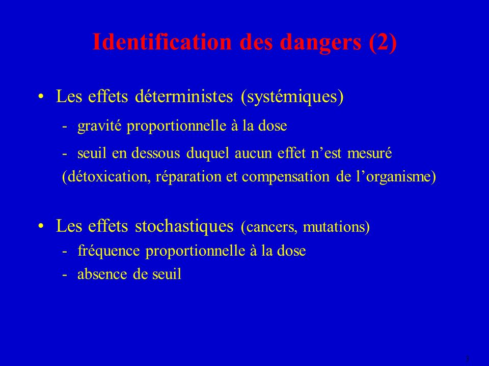 Identification des dangers (2)