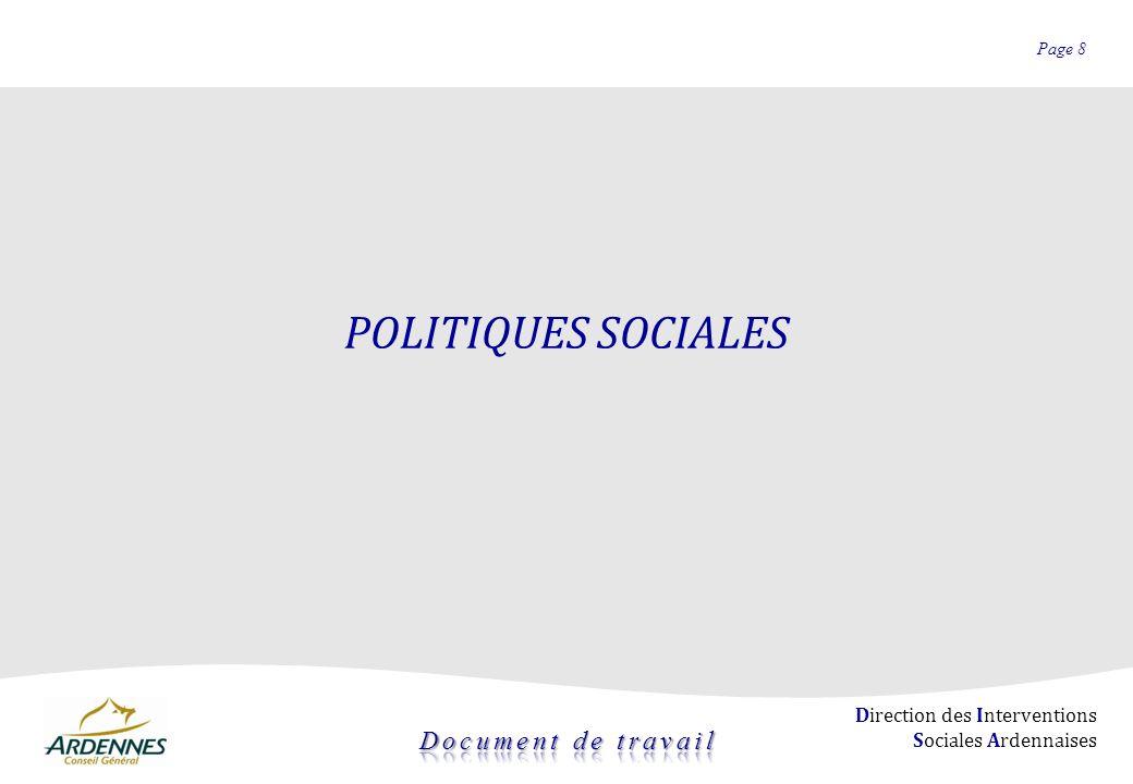 POLITIQUES SOCIALES 8