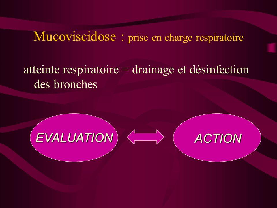 Mucoviscidose : prise en charge respiratoire