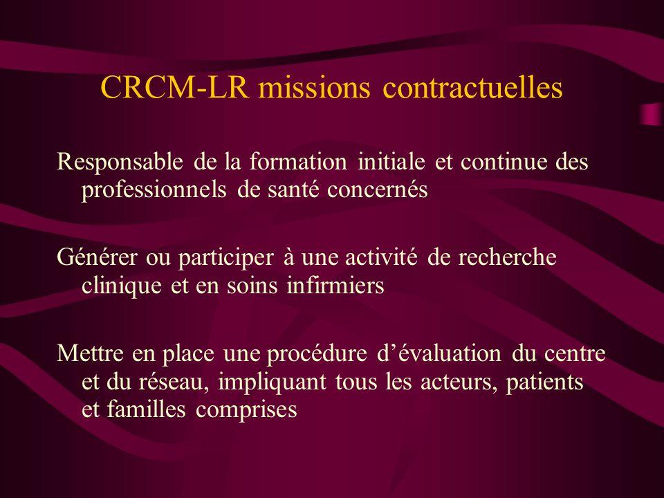 CRCM-LR missions contractuelles