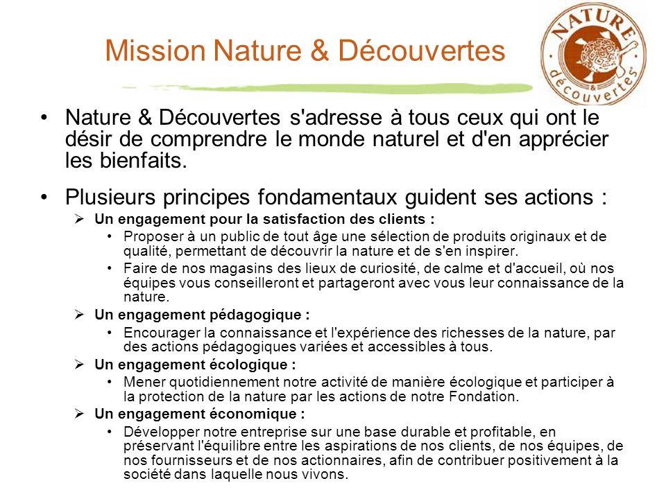 Mission Nature & Découvertes
