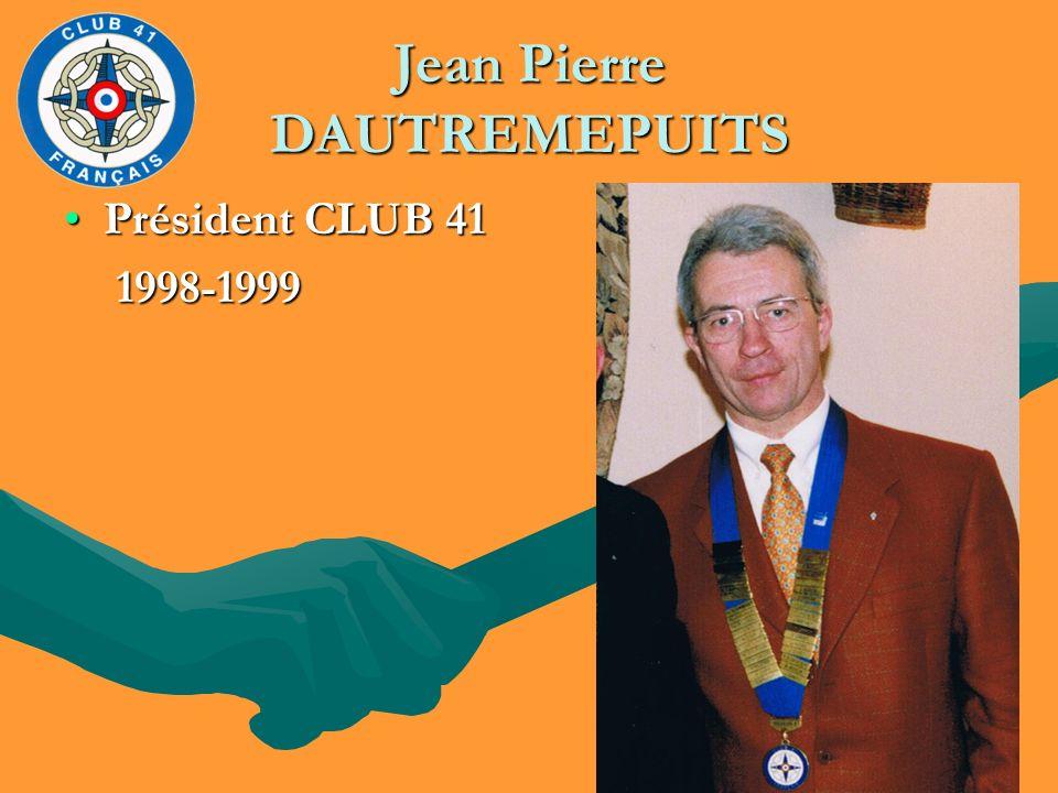 Jean Pierre DAUTREMEPUITS
