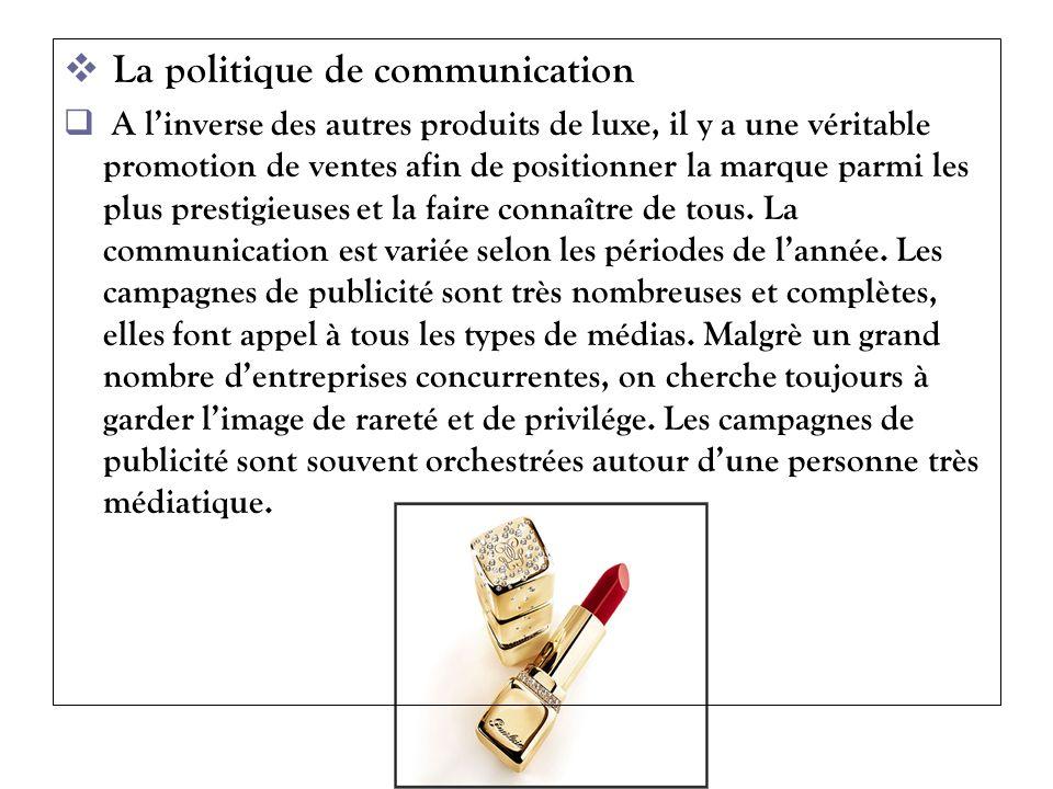 La politique de communication