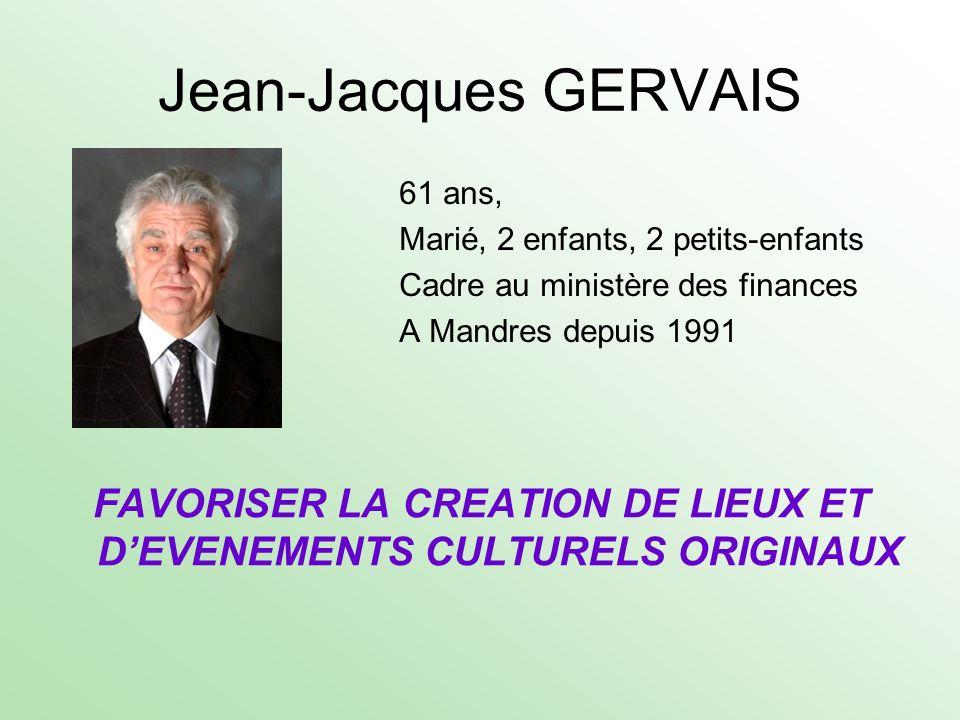FAVORISER LA CREATION DE LIEUX ET D'EVENEMENTS CULTURELS ORIGINAUX