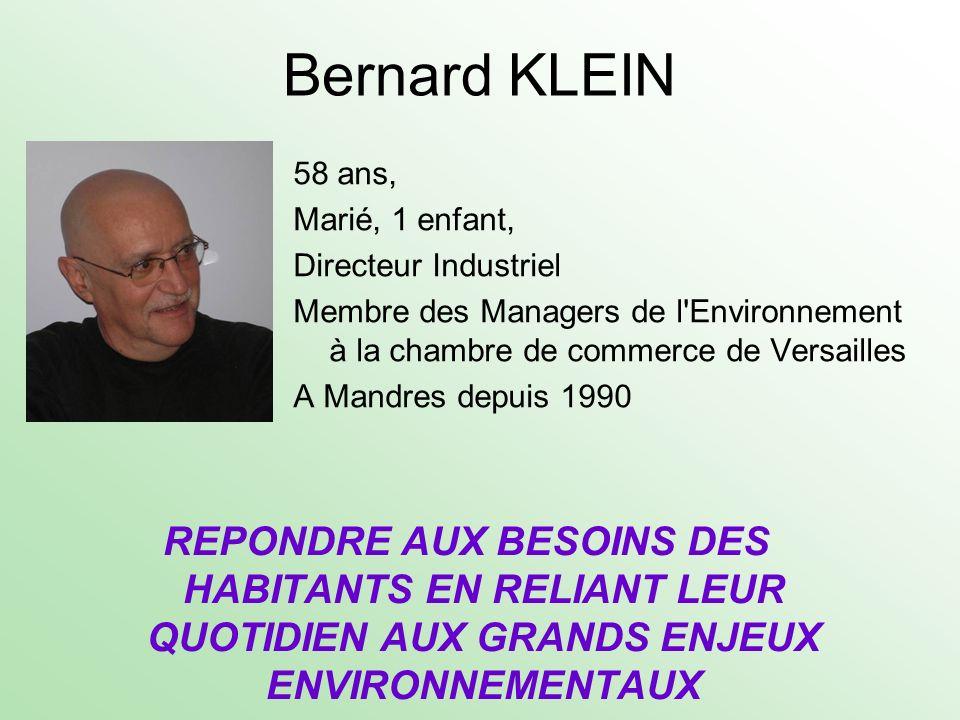 Bernard KLEIN