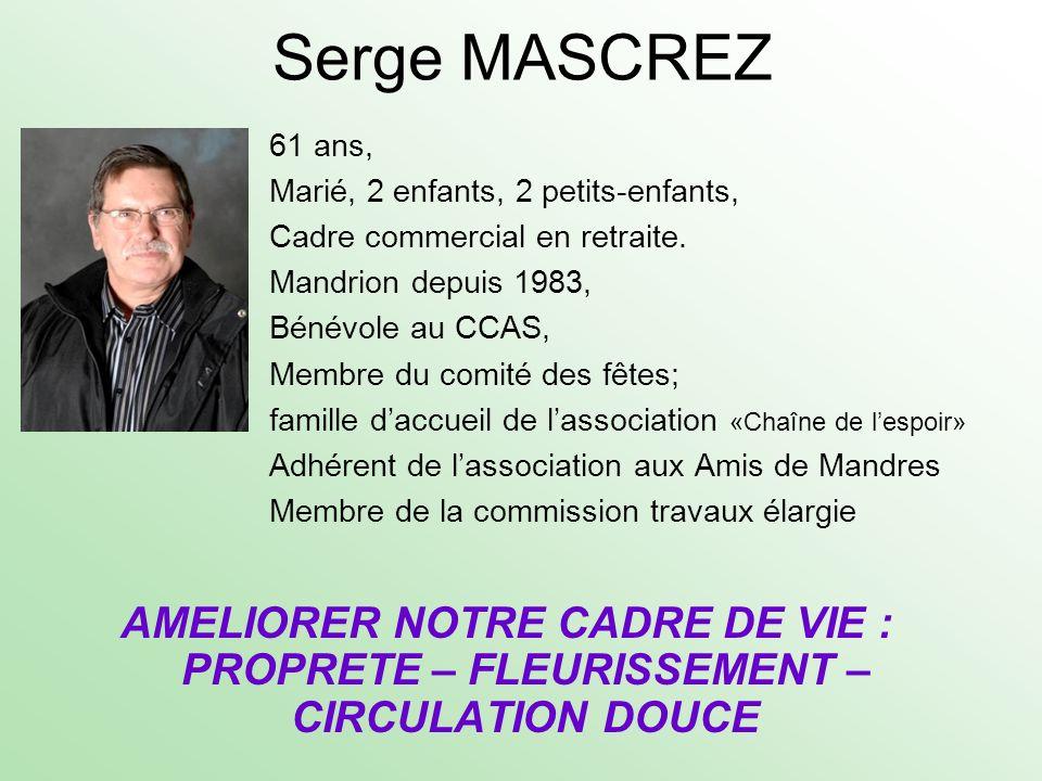 Serge MASCREZ
