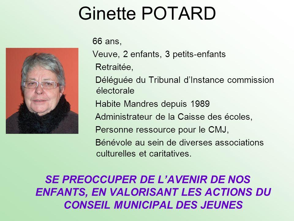 Ginette POTARD
