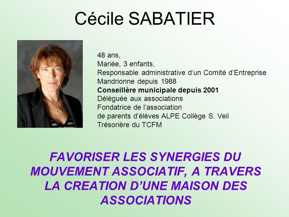 Cécile SABATIER