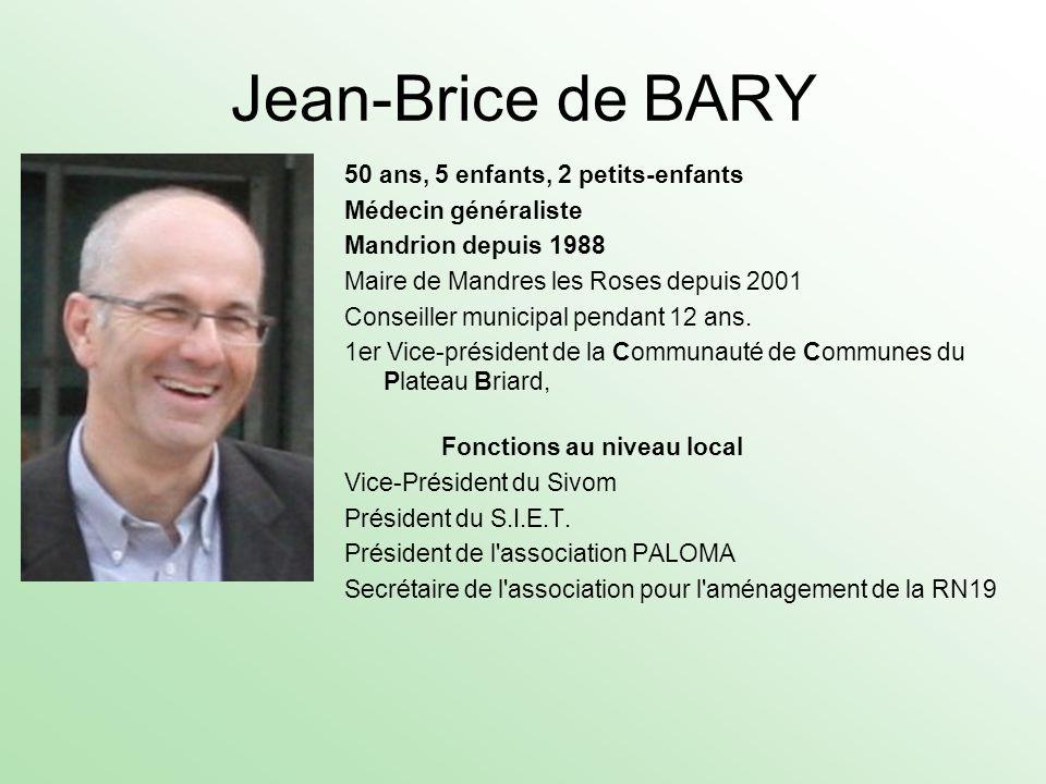 Jean-Brice de BARY