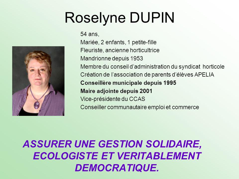Roselyne DUPIN
