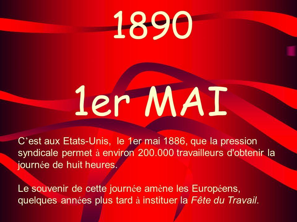 1890 1er MAI.