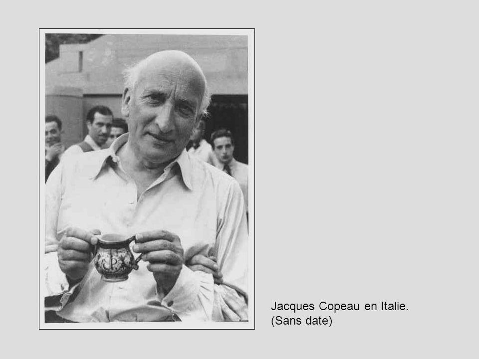 Jacques Copeau en Italie.