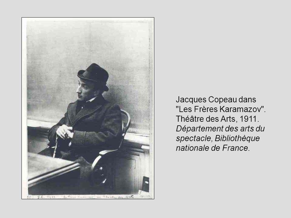 Jacques Copeau dans Les Frères Karamazov . Théâtre des Arts, 1911.