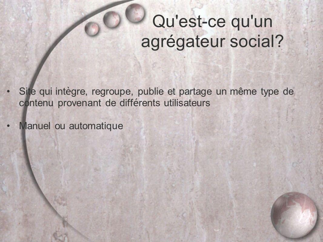 Qu est-ce qu un agrégateur social