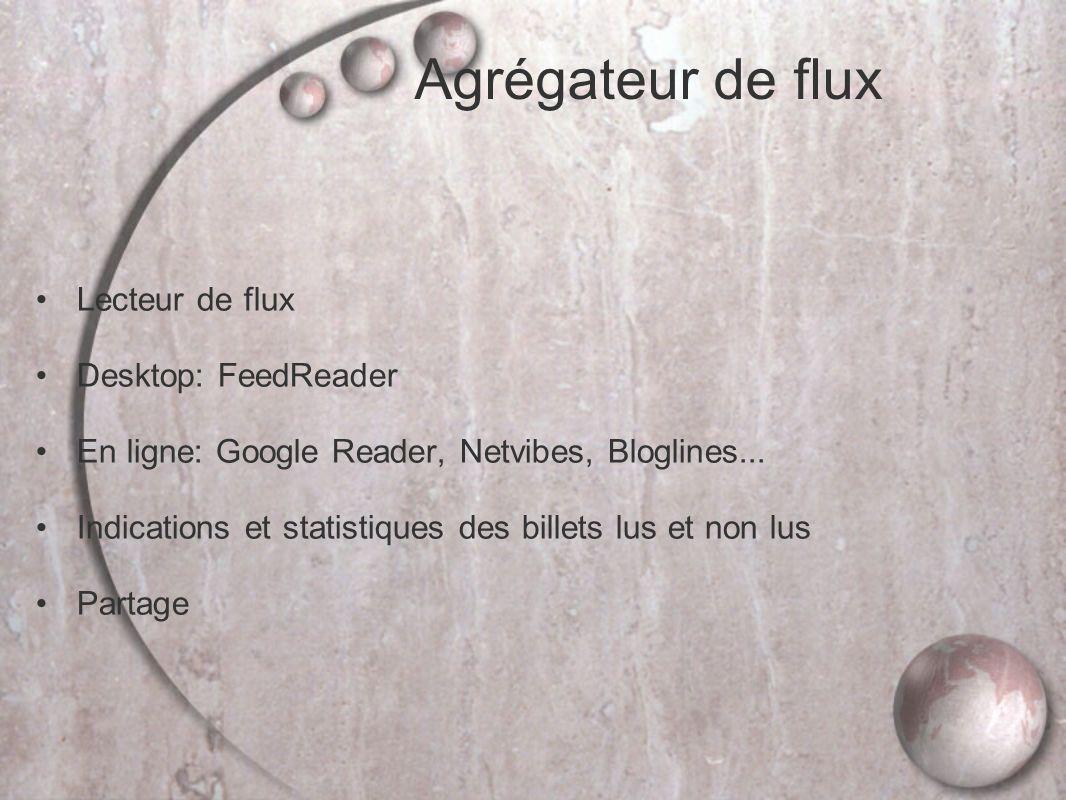 Agrégateur de flux Lecteur de flux Desktop: FeedReader