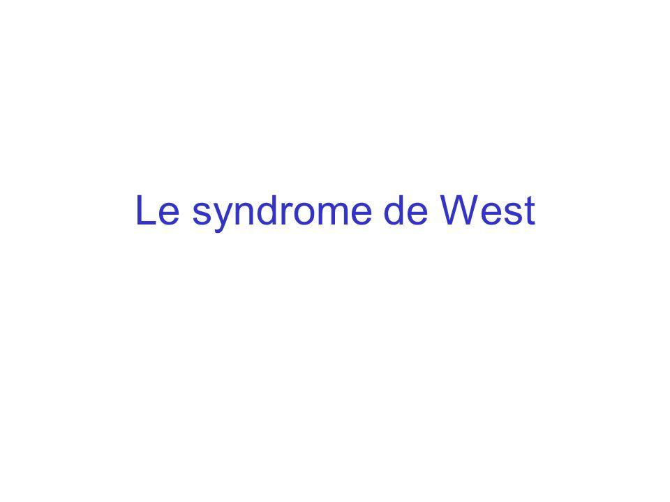 Le syndrome de West