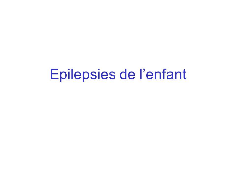 Epilepsies de l'enfant