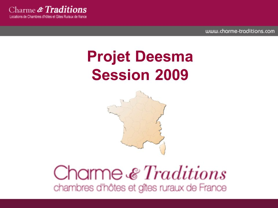 Projet Deesma Session 2009