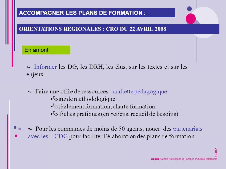 guide méthodologique règlement formation, charte formation