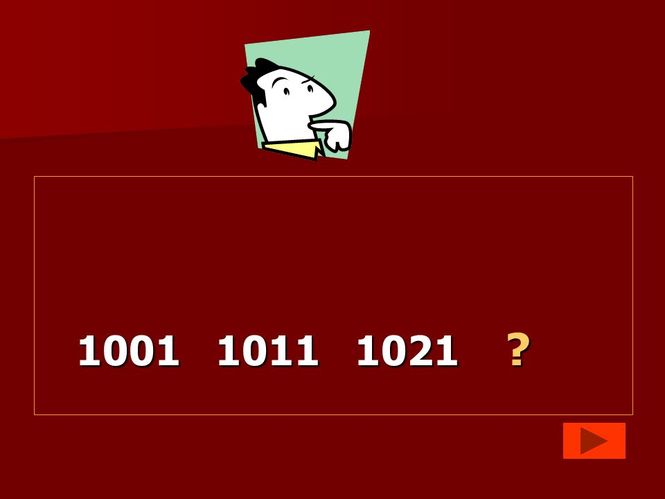 1001 1011 1021