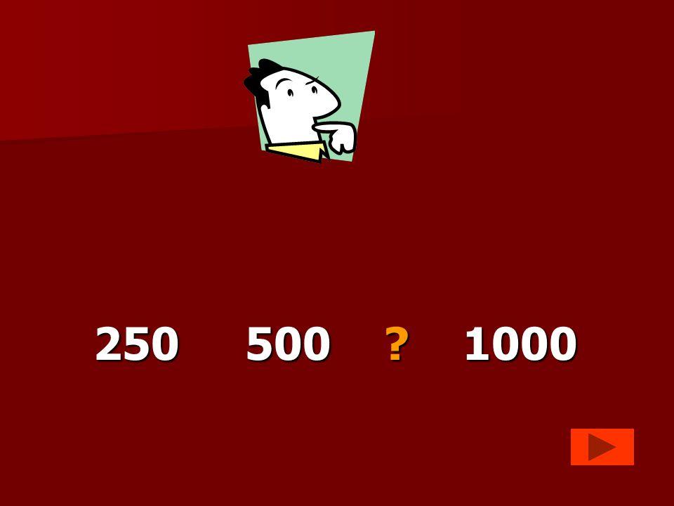 250 500 1000