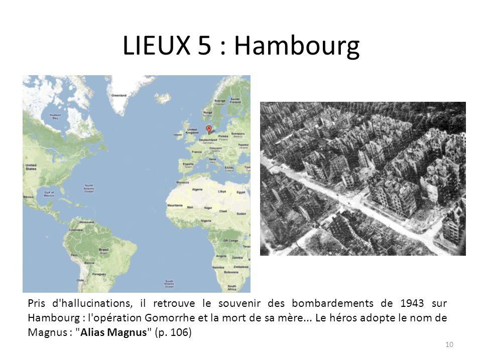 LIEUX 5 : Hambourg